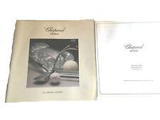 Chopard Geneve Uhren Katalog   Preisliste von 1989