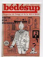 Carte Postale Les Portraits de Tintin n°4. Tintin for President. Bedesup - 2015