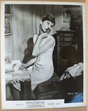 DIARY ANNE FRANK MILLIE PERKINS PORTRAIT ORIGINAL VINTAGE glossy b&w movie photo