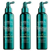 (3) L'Oreal Paris EverStrong Hair Thickening Tonic, 5.1 oz