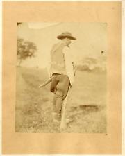 Cremière, chasseur Vintage albumen print Tirage albuminé  22x28