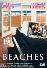 Beaches DVD Bette Midler COMEDY BRAND NEW R4