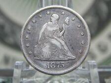 "1875 ""CC"" Twenty Cent Piece Silver 20c #3 East Coast Coin & Collectables, Inc."