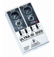 BEHRINGER 2 Canali Di BOX Argento/Nero Ultra-DI DI20