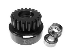 Racers Edge 19 Tooth Clutch Bell with 5x10mm Bearings for Traxxas Revo 19T