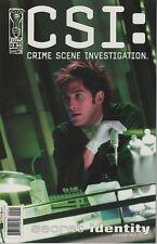 CSI Crime Scene Investigation Secret Identity #5 TV show series comic book