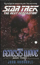 The Genesis Wave Book 3 by John Vornholt (Paperback, 2003) STAR TREK Next Gen