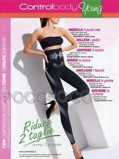 LEGGINGS MODELLANTE E CONTENITIVO RIDUCE 2 TAGLIE CONTROLBODY ART. 610127