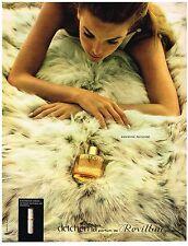 PUBLICITE ADVERSTISING  1968  REVILLON   parfum DETCHEMA