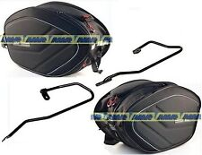 YAMAHA MT 09 FROM 2013 SIDE PANNIERS SOFT EA100 + FRAME TE2115 + 2115KIT