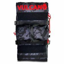 Vulcano Fire 50L Backpack - Paintball Gear Bag Black Camo/Red