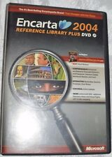 Ms Encarta Reference Library 2004 Pc Cd encyclopedia research dictionary study