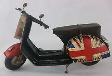 Tin Plate Model of a Union Jack Scooter /Ornament /Gift
