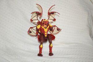"Bakugan PYRUS Large 7"" Tall Helix DRAGONOID RED Gundalian invaders"
