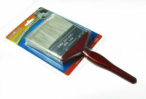 1 x 10 cm  Wide Paint Brush  Synthetic Bristle Painting  4  Inches Large  100 mm