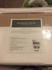 CHARTER CLUB - Damask Solid 500T Taupe Full Bedskirt