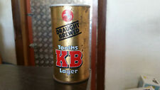 rare vintage reschs 740ml tooths KB lager beer tin  can