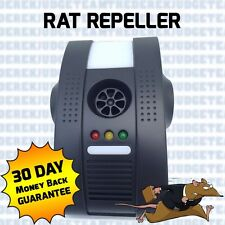 Patented Advanced Rat Rodent Mouse Ultra Sonic Repeller Repellent UK