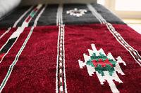 70x110 cm Handgewebt,Kelim Teppich,Carpet,Matte aus Damaskunst S 1-8-1