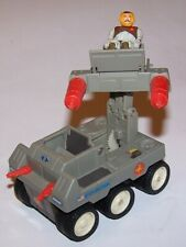 Vintage 1987 STARCOM M-6 Railgunner Ground Attack and Action Figure by Coleco