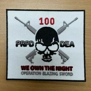 Policia De PUERTO RICO Police Department(2009/2010) Grupo los 100 Uniform Patch