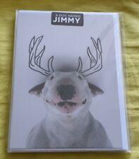Jimmy Choo, Jimmy The Bull, English Bull Terrier greetings cards, brand new