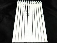 """Eye Liner Pencil White Color 12 Eyeliners Lot 7.5"""" Long PX Look Brand"""