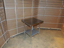 Stainless Steel Work Bench Table Kitchen Top 600mm X 600mm 2ft x 2ft BRAND NEW
