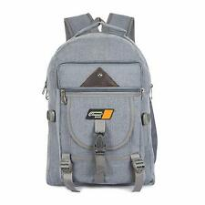 Backpack Bag Autofact Classic School College Casual Unisex 35 Liters Gray Color