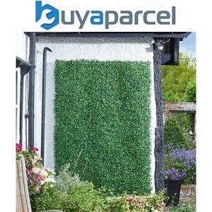 4x Smart Garden 60x40cm Boxwood Leaf Screening Panel Wall Cover Faux Trellis Mat