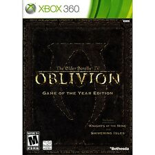 The Elder Scrolls IV: Oblivion - Game of the Year Edition Xbox 360 [Brand New]
