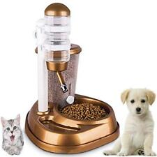Large Capacity Automatic Pet Bowl Drinking Fountain Cat Dog Food Water Feeder
