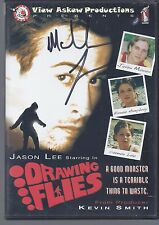 AUTOGRAPHED  DVD --DRAWING FLIES -- LIKE NEW - FREE SHIP