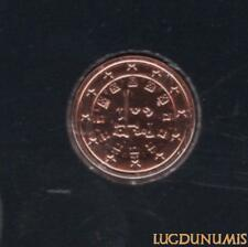 Portugal 2010 1 Centime BU FDC provenant coffret 20000 exemplaires