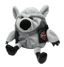 Harley Davidson Biker Club Motorcycle Pet Rebel Rider Wild Wolf Baby gift New 8""