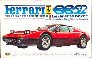 Fujimi Ferrari BB 512 Berlinetta Boxer Pininfarina, 1/16 Scale