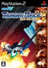 Used PS2 Sega Thunder Force VI 6 SONY PLAYSTATION JAPAN IMPORT