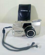 Olympus MJU II Zoom 80 Panorama Multi AF All Weather 35mm Compact Film Camera