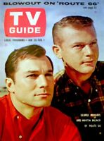 TV Guide 1963 Route 66 George Maharis Martin Milner Bette Davis #513 EX/NM COA