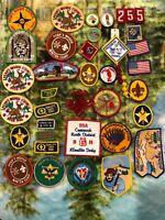 BSA Boy Scout Council Patches Penn's Woods Council Lot of 37 Items Vintage