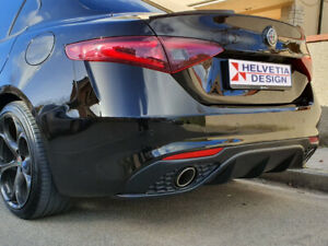 "Kit art. Q1342-TRX DAM Sotto Paraurti / Rear Bumper ""VELOCE"" Alfa Romeo Giulia"