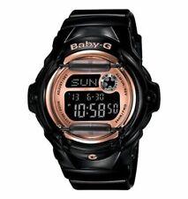 Casio Baby G Digital Dial Black Resin Ladies Watch BG169G-1. New-Free Shipping!