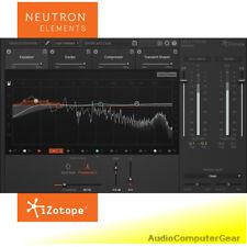 iZotope NEUTRON ELEMENTS Pro Audio Mixing Software EQ Compressor Plug-in NEW