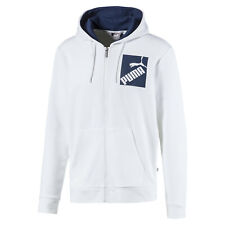 PUMA Big Logo Men's Full Zip Hoodie Men Tee Basics