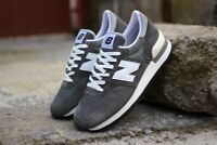 """New Balance 990 Made In USA """"30th Anniversary"""" Gray M990GRY Limited Size 12"""