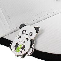 1PC Portable Panda Golf Cap Clip Black White Golf Hat Clip Golf Ball Mar qi