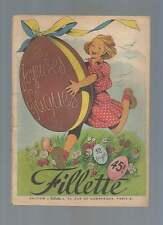 FILLETTE N° SPECIAL JOYEUSES PÂQUES . 1950 . AGGIE/LILI / PELLOS DURGA RANI .