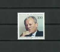 [M044] Germany 10/11/1993 Willy Brandt, Politician 1v Issue MNH.