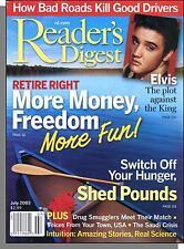 Reader's Digest - 2003, July - The Plot Against Elvis, More Money & Freedom
