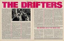 Drifters Colour centrefold Interview/article